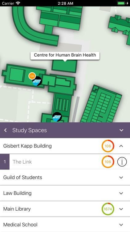 UoB Campus Map screenshot-3