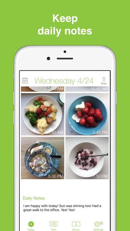 See How You Eat Food Diary App screenshot-8