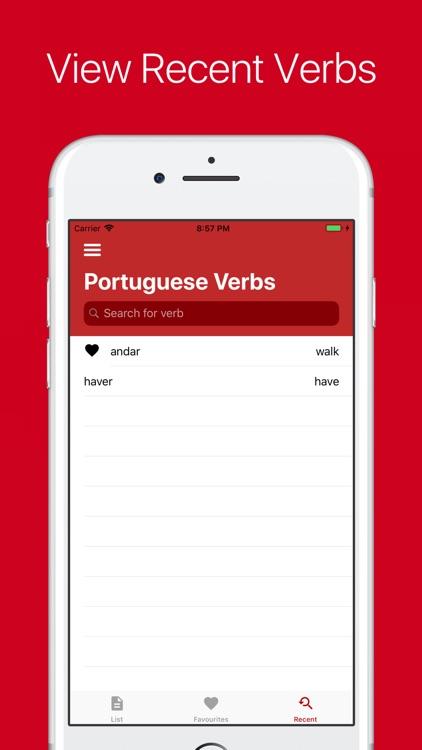 Portuguese Verb Conjugator Pro screenshot-5