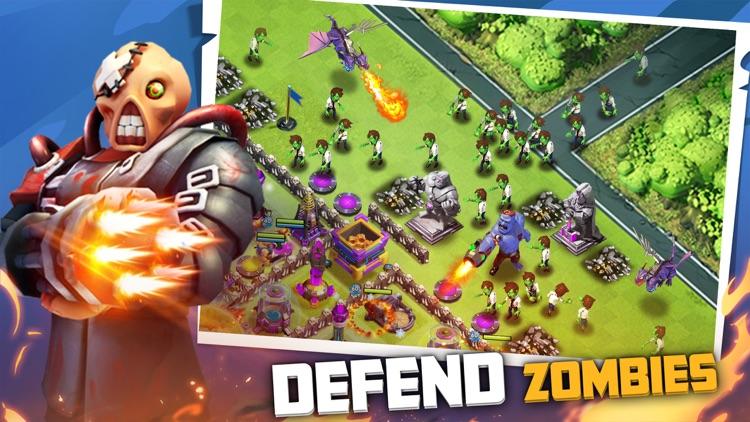 X-War:Clash of Zombies screenshot-0