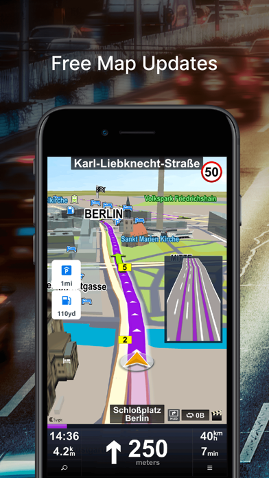 Car Navigation: GPS & Maps Screenshot