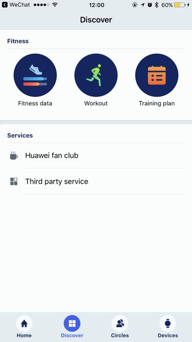 Huawei Wear - App - iOS me