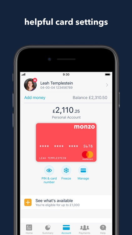 Monzo Bank screenshot-4