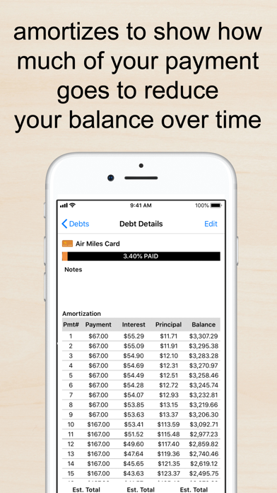 Screenshot for Pay Off Debt by Jackie Beck in United States App Store