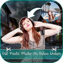 Cut Paste Photo Maker On Video