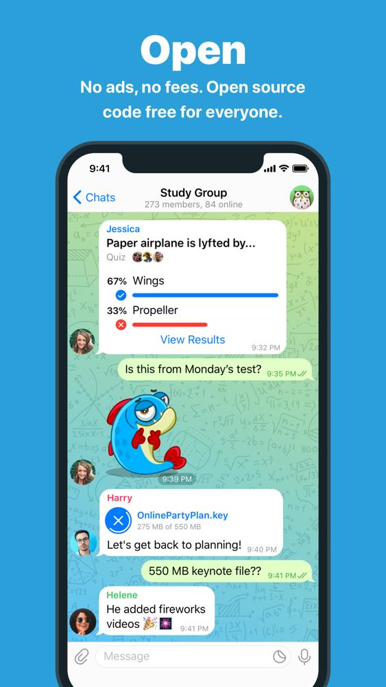 Telegram Messenger App For Iphone Free Download Telegram Messenger For Ipad Iphone At Apppure
