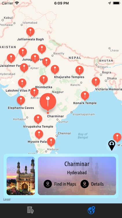 Indian Historical Places - PRO screenshot-3