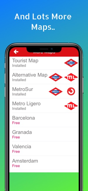 Madrid Metro - on the App Store