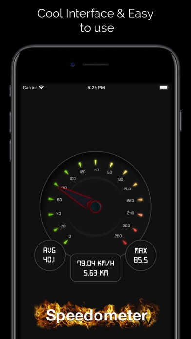 Digital Speed Tracker PRO Screenshots