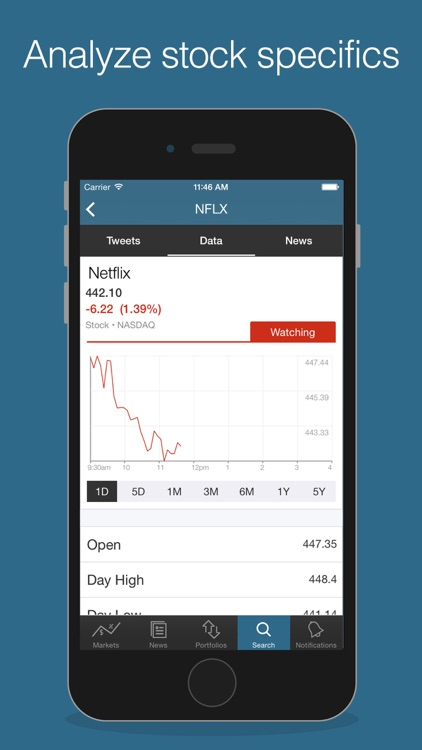 Benzinga Stock & News Tracker screenshot-4