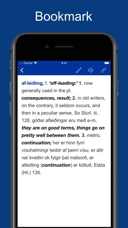 Icelandic English Dictionary screenshot-3