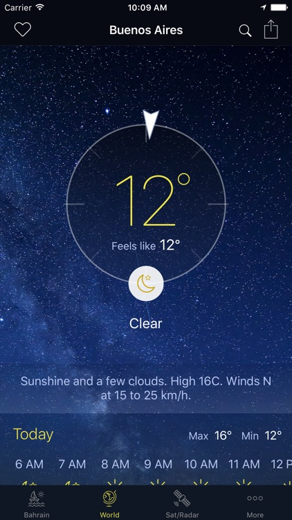 Bahrain Weather screenshot-3