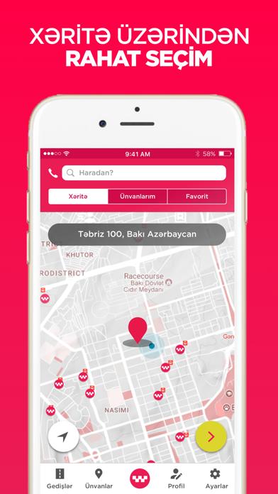 Screenshot for Güvən Taksi və Ayıq sürücü in Azerbaijan App Store
