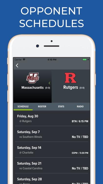 Rutgers Football Schedules screenshot-5