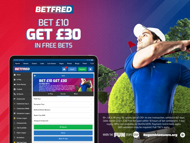 Betfred– Sports Betting & More on the App Store