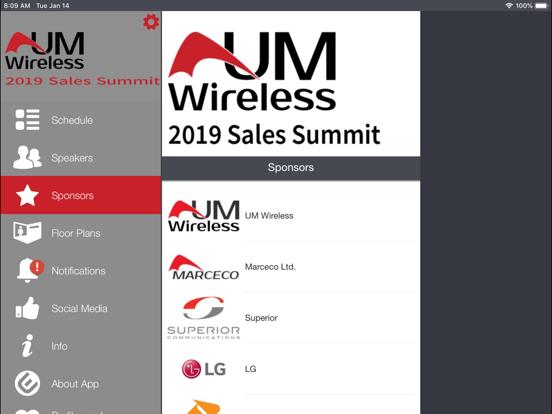 UMWireless Event Portal screenshot 8