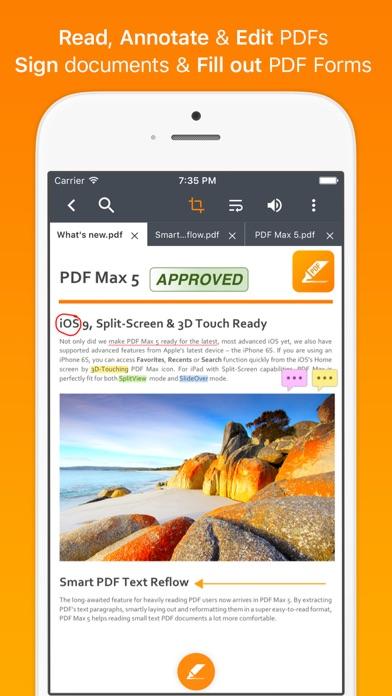 Screenshot PDF Max Pro - #1 PDF app!