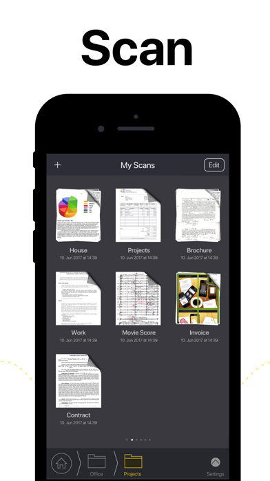 My Scans, best PDF Scanner App Screenshot