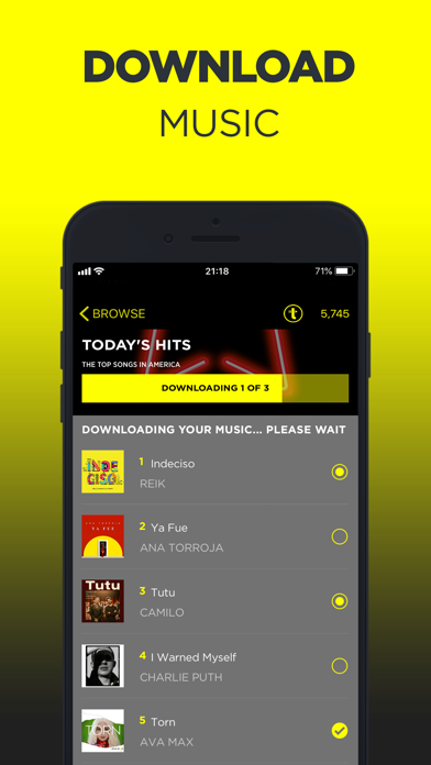 TREBEL Music - Download Songs by M&M Media, Inc  (iOS
