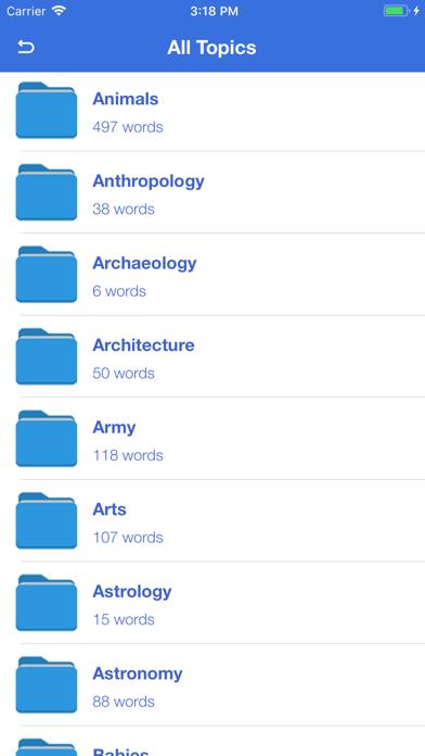 P2P Wordpower Dictionary PRO app image