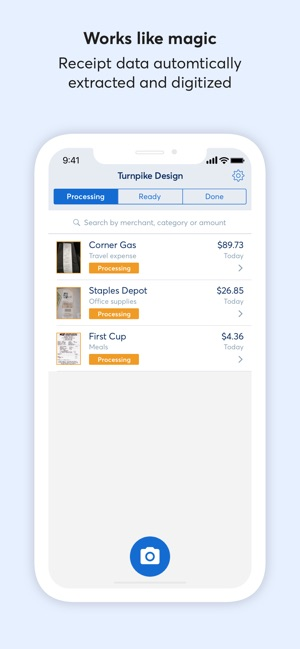 Receipts by Wave on the App Store