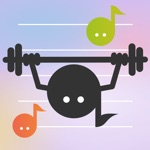 Simple Music Note Workout