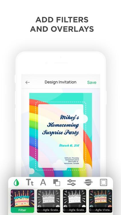 Invitation Maker- Make Invites screenshot-7
