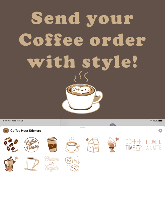 Coffee Hour Stickers screenshot 6