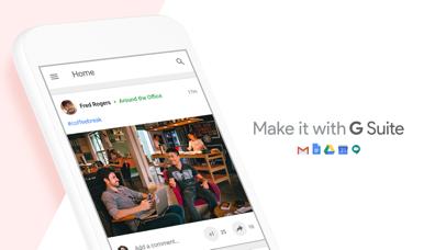 Google+ for G Suite Screenshot