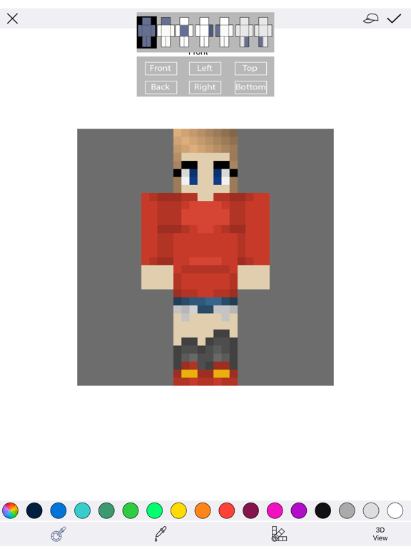 Best Girl Skins for Minecraft PE Free screenshot