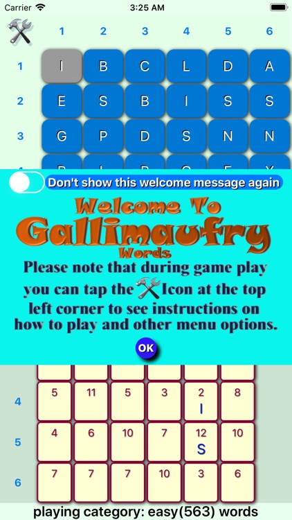 Gallimaufry Words Lite screenshot-0