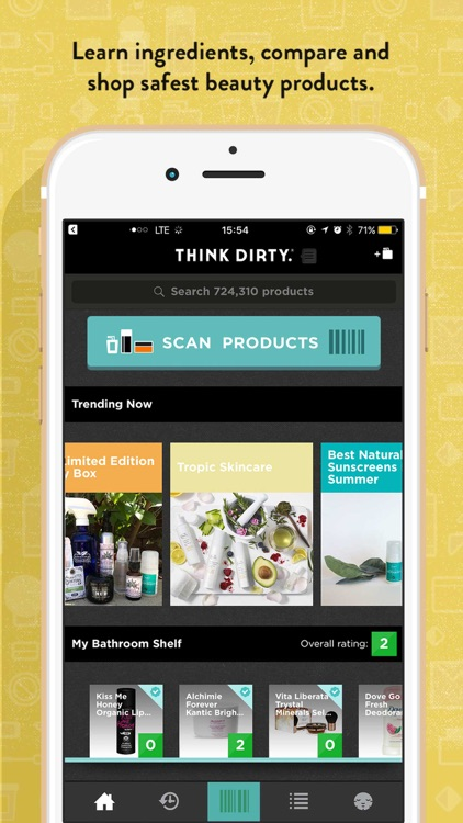 Think Dirty – Shop Clean