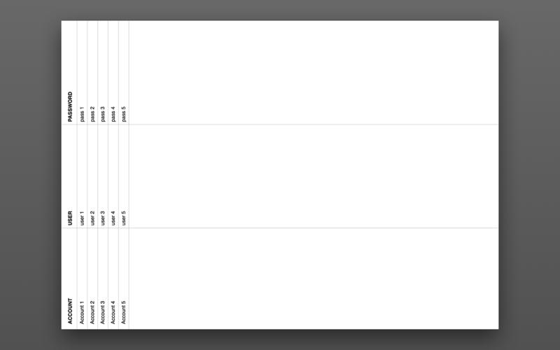 Скриншот из Acclount Desk