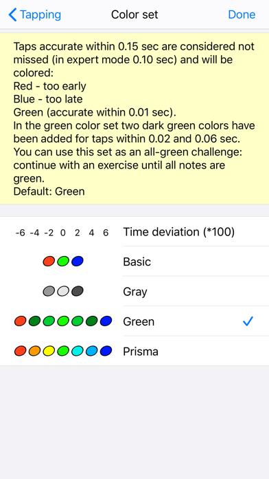Screenshot #3 pour Rhythm Sight Reading Trainer