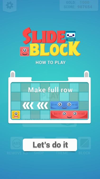 Slide Block : Puzzle Game screenshot-5