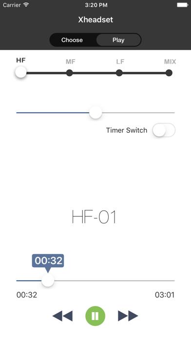 XheadSet - Burn headphones screenshot three
