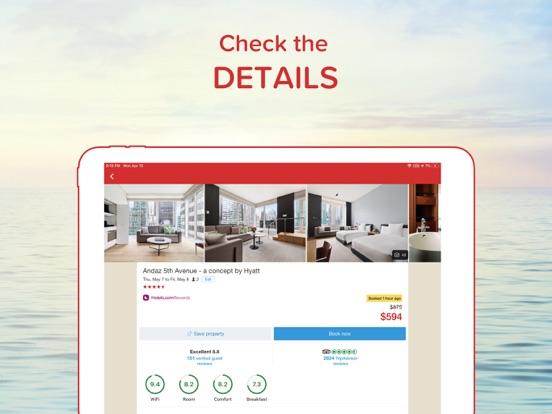 Hotels.com - Hotel booking and last minute hotel deals screenshot