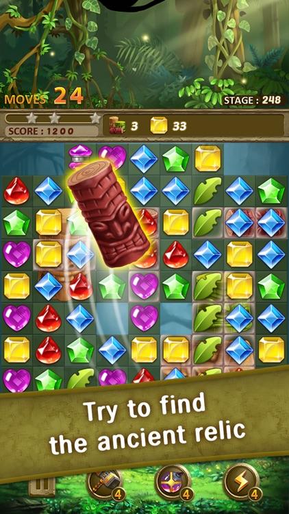 Jewels Jungle : Match 3 Puzzle screenshot-4