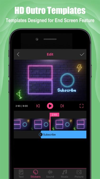 Intro Maker- yt intro designer screenshot-5