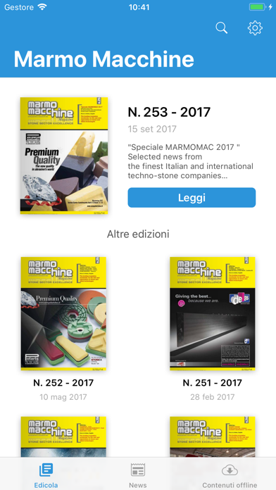 Marmomacchine MagazineScreenshot of 3