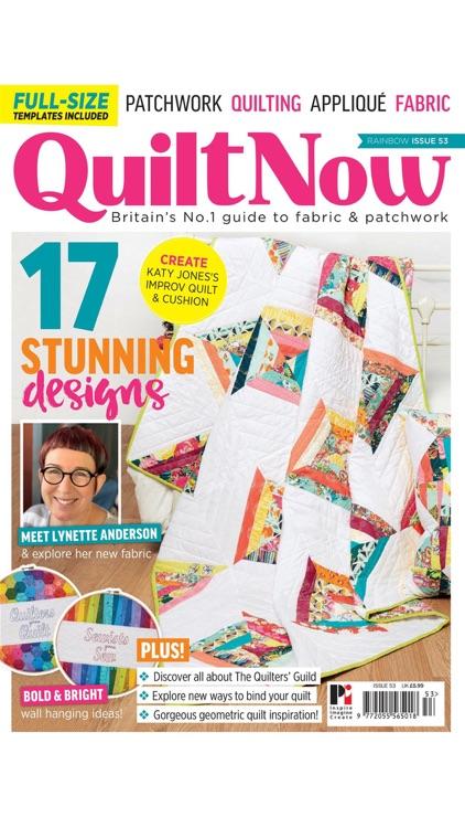 Quilt Now Magazine screenshot-9