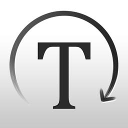 Ícone do app Curved Text