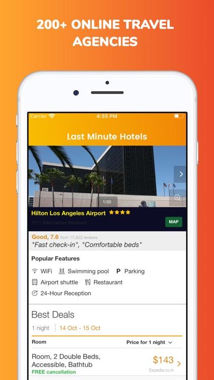 Last minute hotel booking app screenshot-3