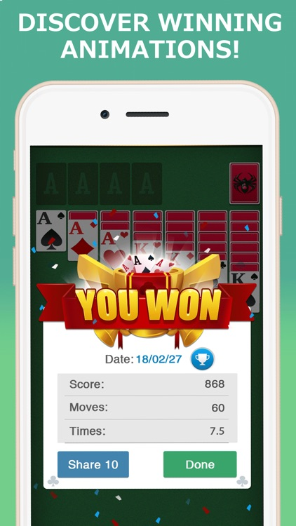 Solitaire Ⓞ screenshot-3
