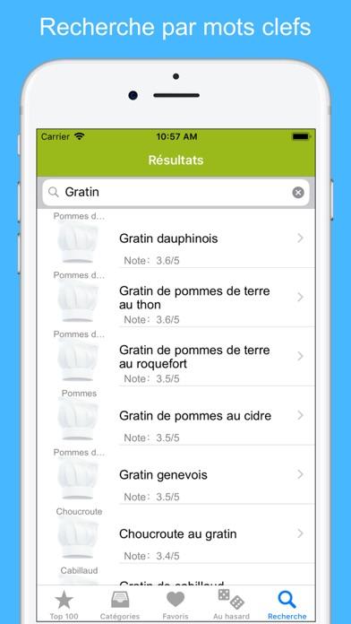 Screenshot #3 pour Recettes de cuisine (12000)