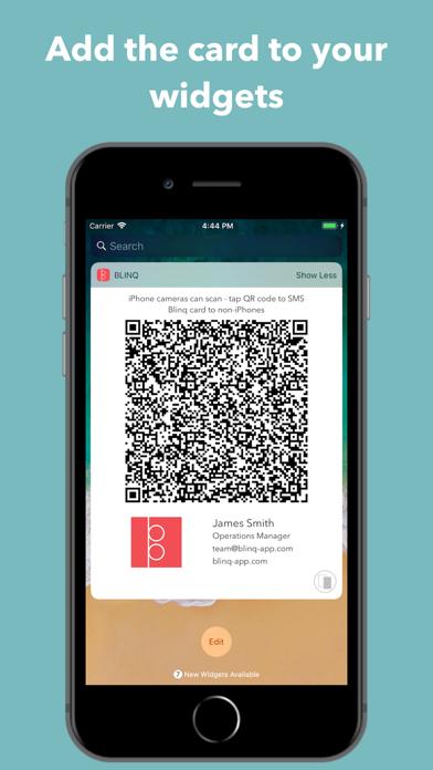 Blinq - Digital Business Cards screenshot two