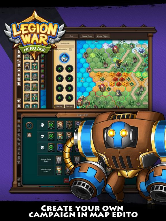 Скачать игру Legion War - Hero Age