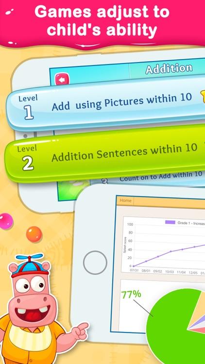 1st Grade Math Learning Games screenshot-3