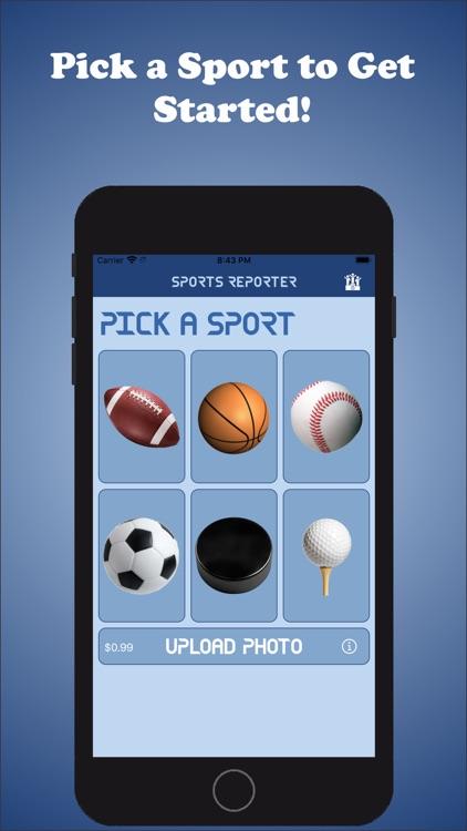 Sports Reporter screenshot-3