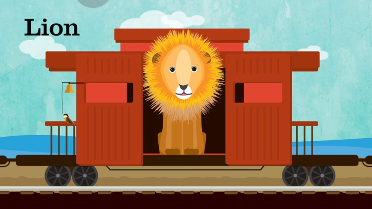 Peek-a-Zoo Train screenshot-8